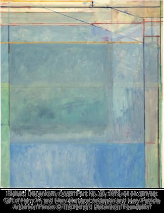 Richard Diebenkorn, Ocean Park No. 60, 1973