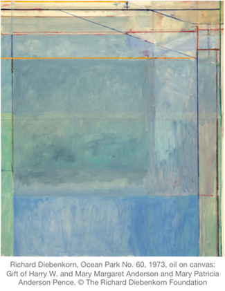 Richard Diebenkorn, Ocean Park No. 60, 1973
